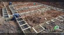 Фотография строительства цокольного этажа под ключ
