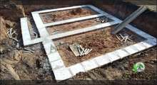 Фото заливки фундамента цокольного этажа под ключ